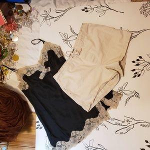 4/$20 Abercrombie & Fitch khaki shorts size small